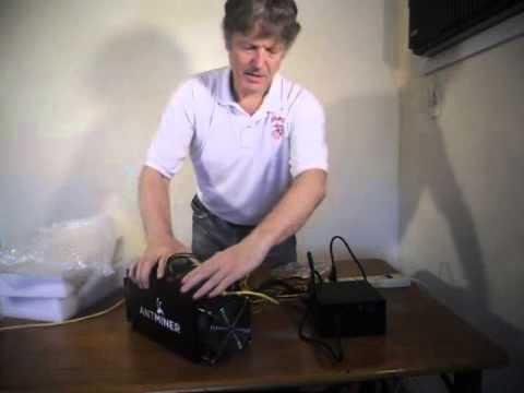 Bitcoin Mining Machine Unpack and Install 3