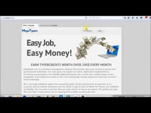 how to make money online by typing without investment in pakistan India