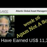 agam investment packages week 26 – not a scam; earned US$ 11,350 – by Ricky Samson