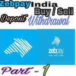 Zebpay Buy Sell & Receive Bitcoins in Hindi/Urdu || Zebpay Sai kaise kamaye ||  Part -1