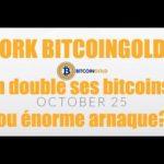 Bitcoingold arnaque ou pas? que faire? attention scam