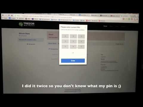 Trezor Harware Wallet Transaction – How to use Trezor to make a transaction