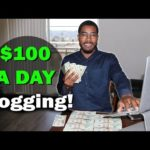 How To Make Money Online Blogging $100 A Day