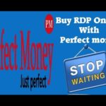 Buy RDP Online With Perfect Money