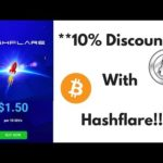 10% Discount on Bitcoin Mining: $20 per day with Hashflare