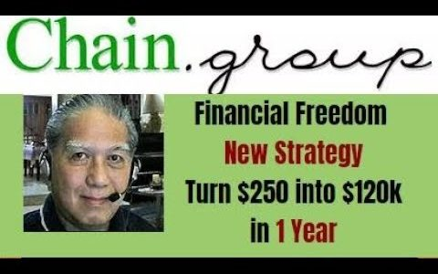 chain group scam review day 18 -Turn $250 into $120 K in 1 Year-  by Ricky Samson