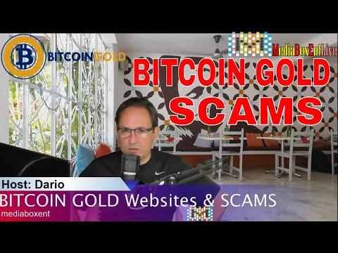 BITCOIN GOLD WEBSITES & SCAMS