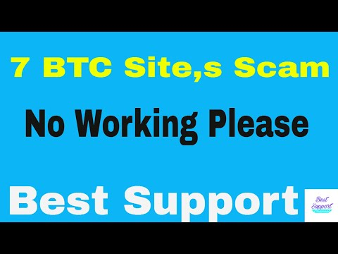 Top 7 BitCoin Sits Scam,s Urdu/Hindi best support