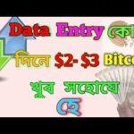 Eran Bitcoin  $2- $3 Daily  Data Entry  job Vary Easy
