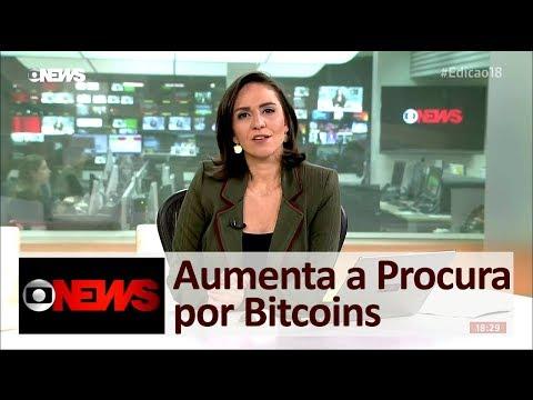 Bitcoin Aumenta Procura - Reportagem da Globo News Sobre Bitcoins 2017