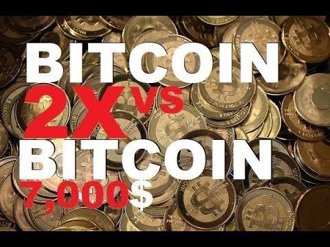NEWS: Bitcoin 2x, Bitcoin hits 7,000$, Bitcoin futures, and volatility
