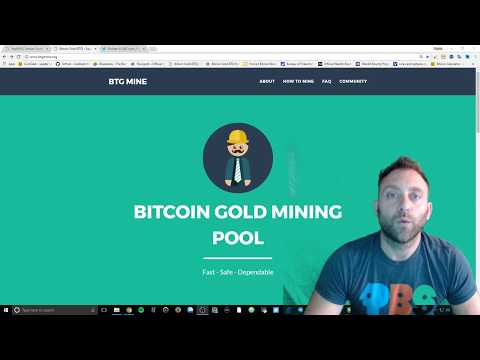 Bitcoin Gold (BTG) Mining Update Testnet.btgmine.org