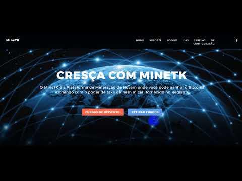 MINETK FREE MINING BITCOIN 150GH/s FREE MINRÇAO GRATIS NOVA