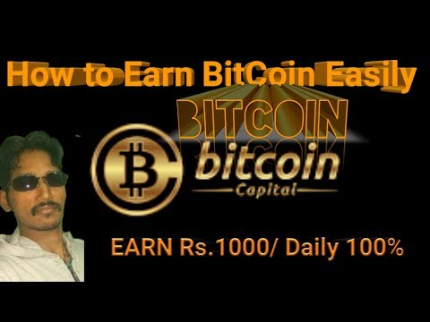Earn Rs.1000 Daily - Easy online job - Bitcoin Earning - Digital currency