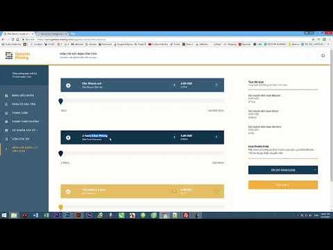 Khởi nghiệp vốn nhỏ an toàn đào bitcoin với Genesis Mining  Phần 2