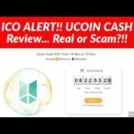 ICO ALERT! UCOIN CASH Review Real or Scam?!