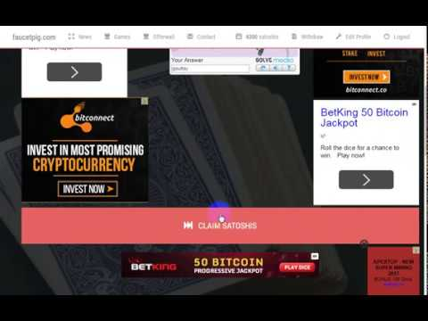BEST SITE TO EARN BITCOIN EVERY 5 MINTUES !!! TRY OR WILL YOU LOSE TOO!