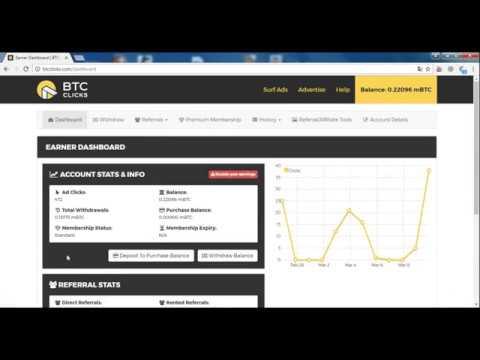 BTCCLİCKS bedava bitcoin Kazanma Sitesi  (SCAM DEĞİL!)