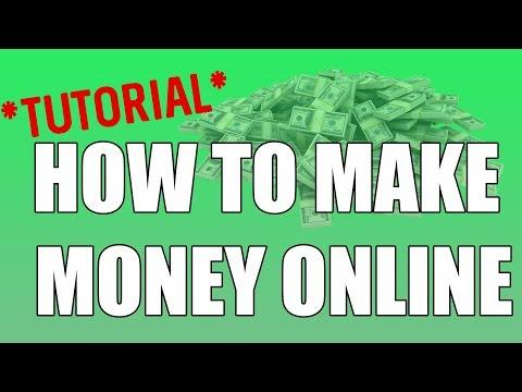Comment faire de l'argent en ligne facilement - How to Make Money Online