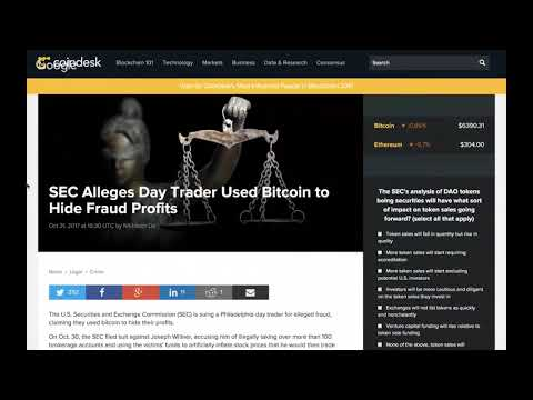 Bitcoin Today in Bitcoin News Podcast (2017-11-01) - 2X Corporate Takeover, Futures, Mainstream, Bi
