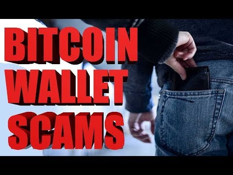 Beware Of Bitcoin Wallet Scams