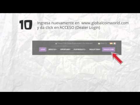 Como empezar a minar Global Coin en español