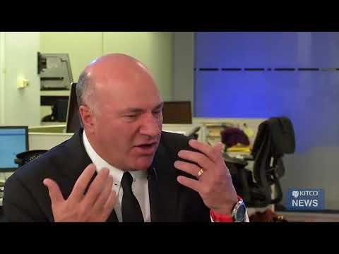 Shark Tank's Kevin O'Leary Talks Bitcoin with Kitco News