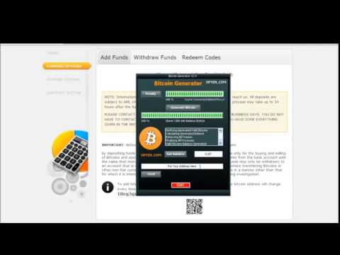 Bitcoin Generator December 2014