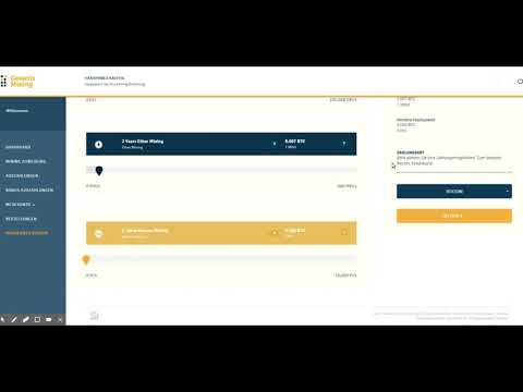 Genesis Mining - Cloud Mining / Bitcoin Mining Leicht Gemacht / Deutsch