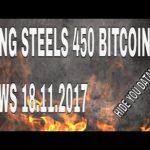 Turkish Gang Extort 450 Bitcoin – News 18.11.2017
