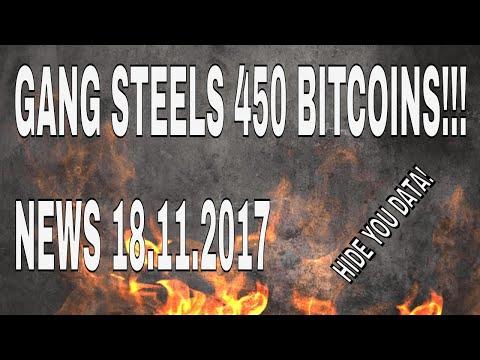 Turkish Gang Extort 450 Bitcoin - News 18.11.2017