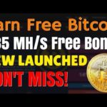 New Bitcoin Mining Site. Free 435 Mh/s Power. Earn Bitcoin 0.1 Free Bitcoin Mining (November)