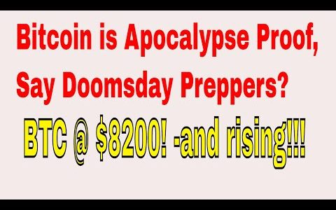 News 20 11 2017 -Bitcoin is Apocalypse Proof, Say Doomsday Preppers ??