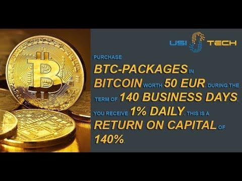 Quit your Job with Bitcoin! -- USI-Tech
