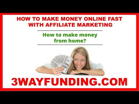 MAKE MONEY ONLINE: HOW TO MAKE MONEY ONLINE WITH AFFILIATE MARKETING