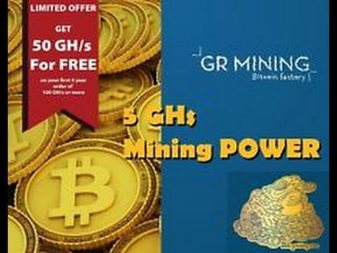 GR Mining. Регистрация и покупка контракта.