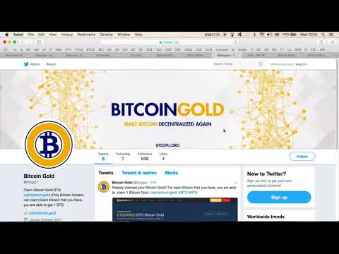 Bitcoin Gold At $156 | Fake/Scam Bitcoin Gold (Btg) Twitter, Site And Wallet | Be Patient