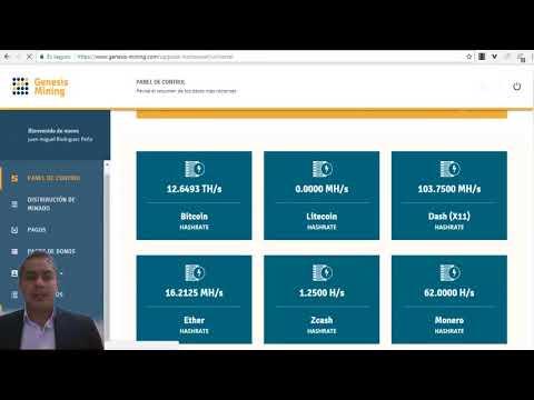 Nuevos Contratos De MineríA Bitcoin En Genesis Mining |Codigo De Descuento 3%|