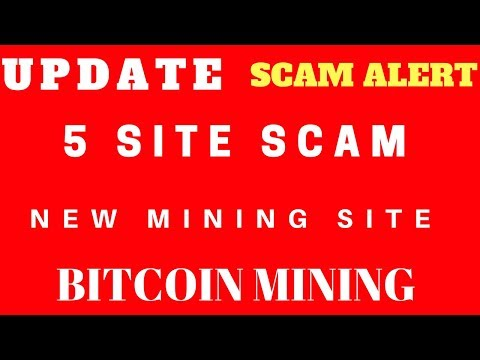New Mining Site|Scam Alert|UPDATE|5 Site scam |BITCOIN MINING||G K R INCOME