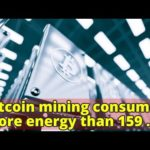 Bitcoin mining consumes more energy than 159 countries – CBS NewsCBS News Logo