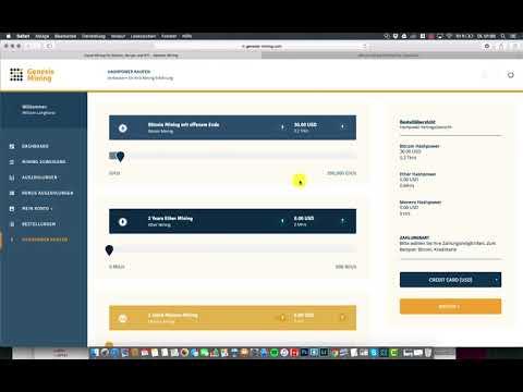 41$ TäGlich Passives Einkommen Durch Bitcoin!   Genesis Mining Upgrade Deutsch