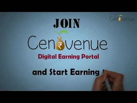 Make Money Online through CentVenue