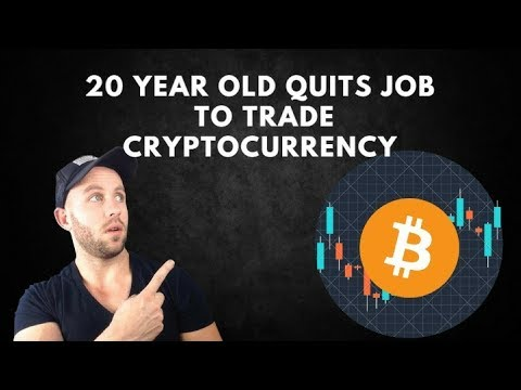 20 Year Old Quits Job To Go Full Time Trading Bitcoin - Interview with Michael Shimeles