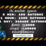 How To Earn Bitcoin faucetpig.com in Tamil | Tamil Online Jobs