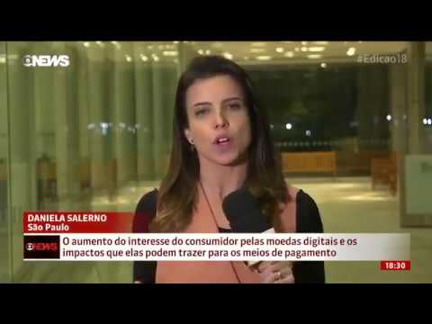 AirBit Club | BitCoin a moeda do futuro | Noticias Globo News