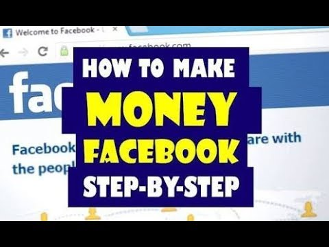 New Tips Earn Money On Facebook 2018
