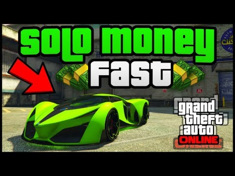 How to make easy money on GTA online (without a CEO or MC)