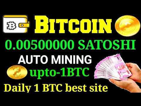 Daily 500000 satoshi,bitcoin mining,best site, Tamil,
