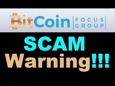 Bitcoin Focus Group Review - SCAM ALERT (New Evidence)