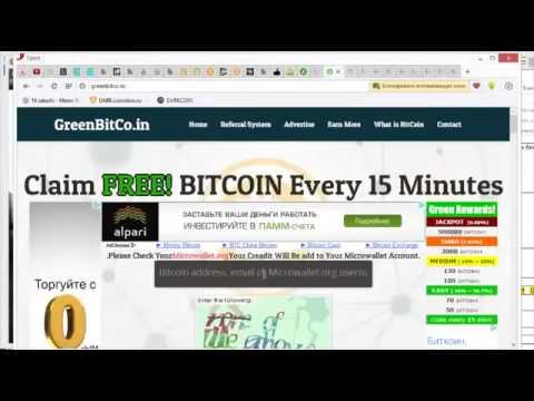 Собираем биткоины на сайте Greenbitco in